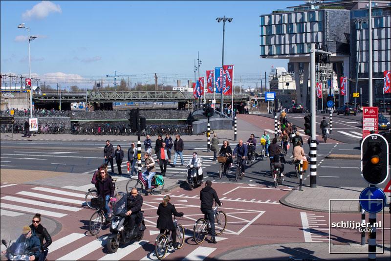 Nederland, Amsterdam, 10 april 2016