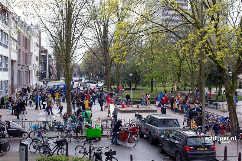 Nederland, Amsterdam, 15 april 2016