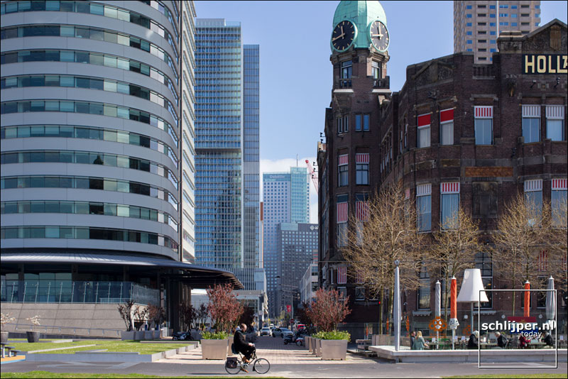 Nederland, Rotterdam, 20 april 2016