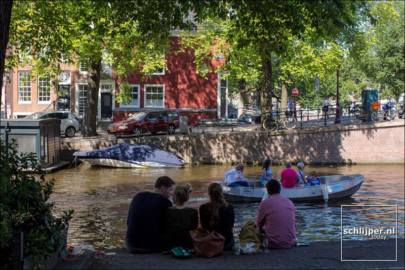 Nederland, Amsterdam, 18 augustus 2016
