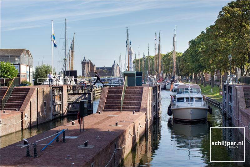 Nederland, Muiden, 23 augustus 2016