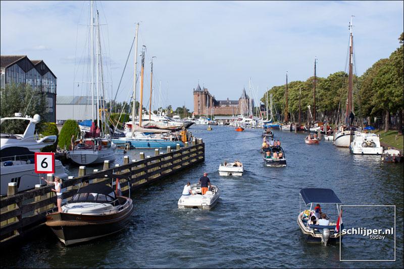 Nederland, Muiden, 10 september 2016