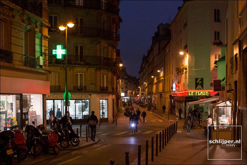 Frankrijk, Parijs, 25 oktober 2016