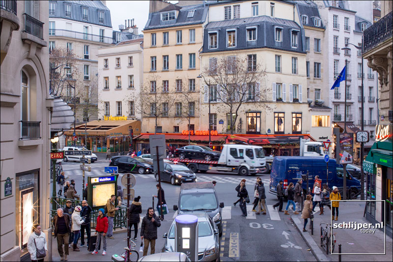 Frankrijk, Parijs, 19 december 2016