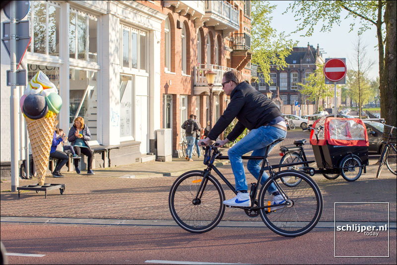 Nederland, Amsterdam, 8 april 2017