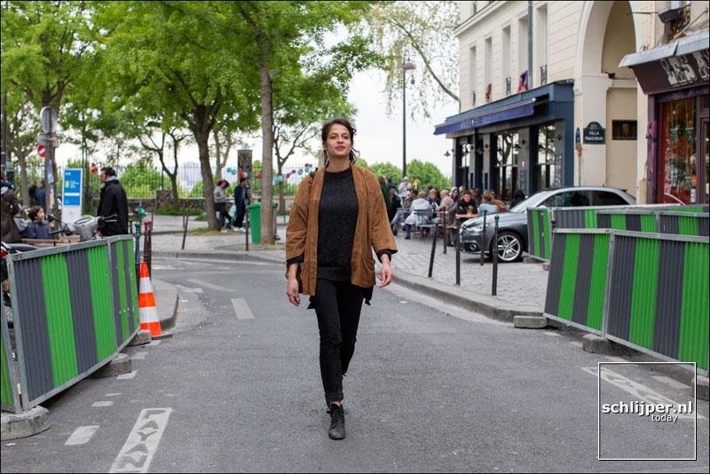 Frankrijk, Parijs, 22 april 2017