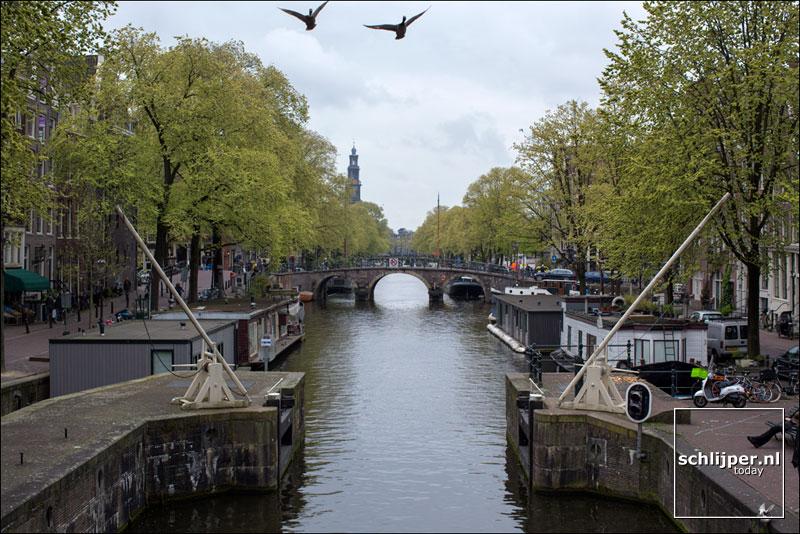 Nederland, Amsterdam, 25 april 2017