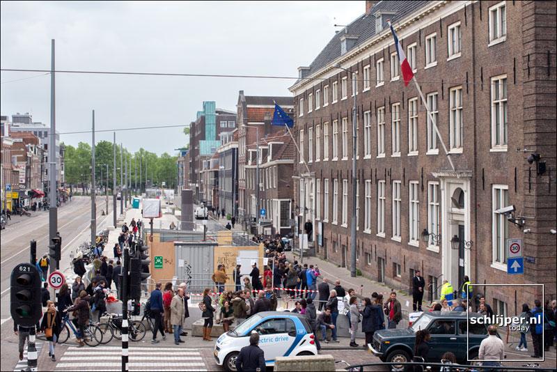 Nederland, Amsterdam, 7 mei 2017