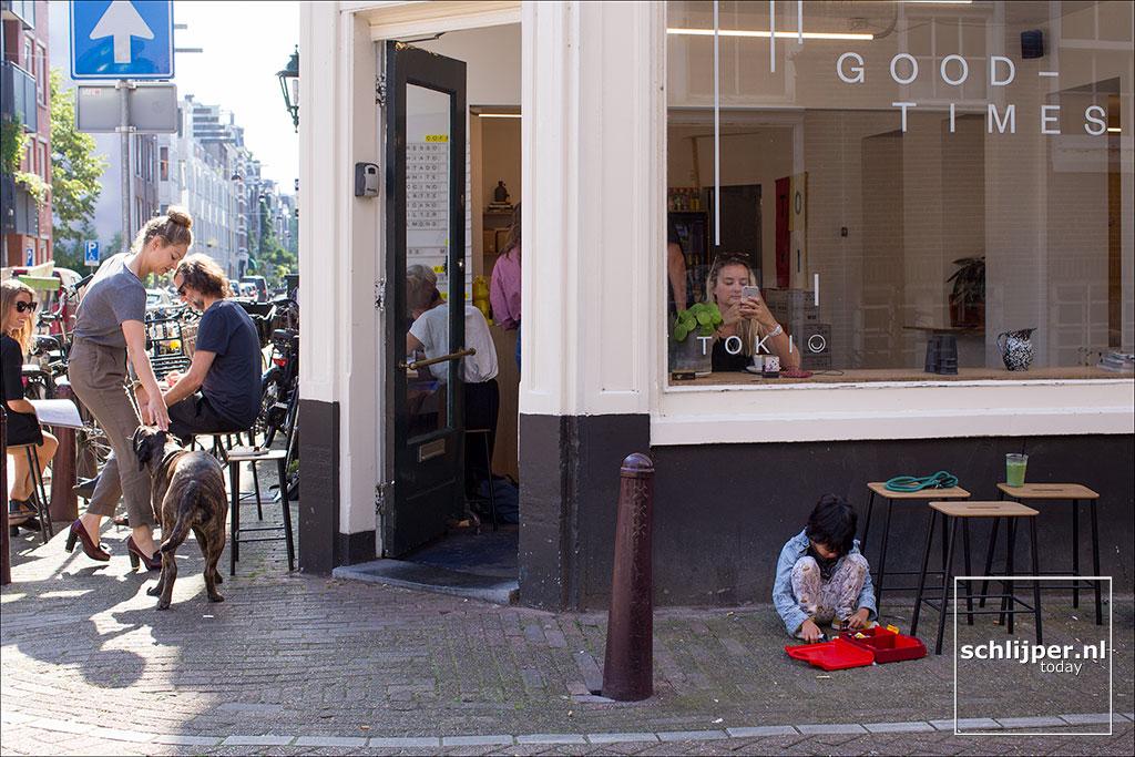Nederland, Amsterdam, 27 augustus 2017