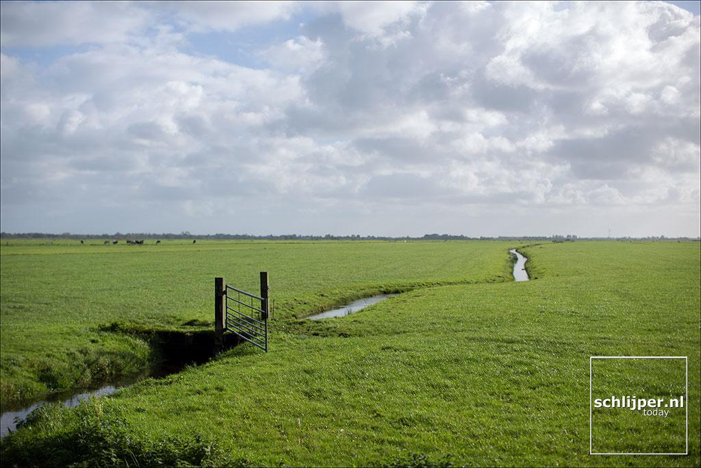 Nederland, Ouderkerk aan de Amstel, 5 oktober 2017