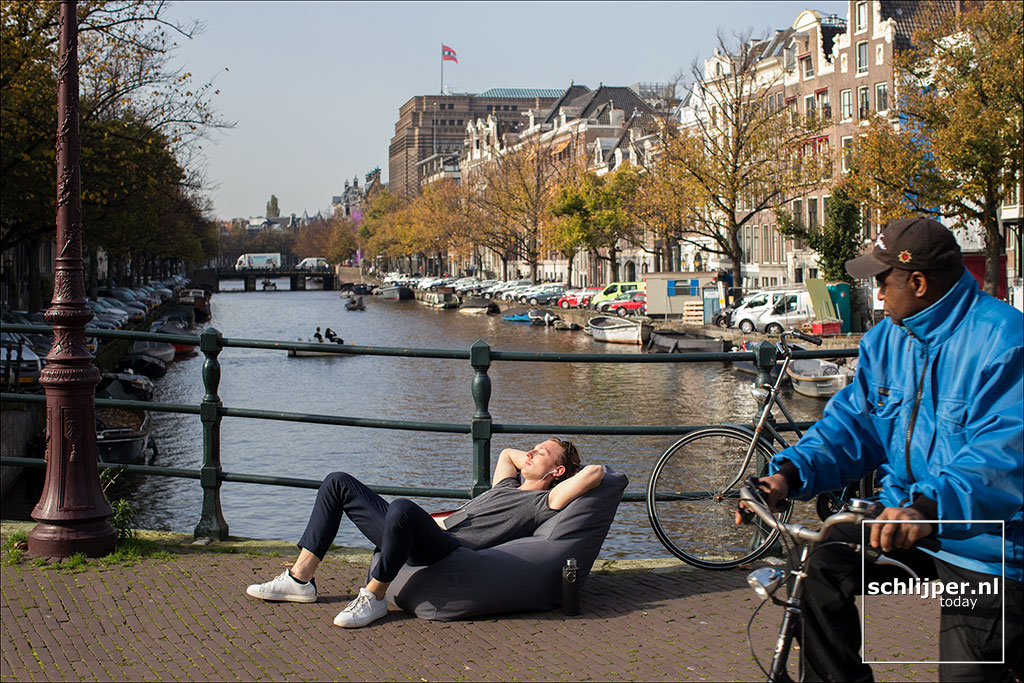 Nederland, Amsterdam, 16 oktober 2017