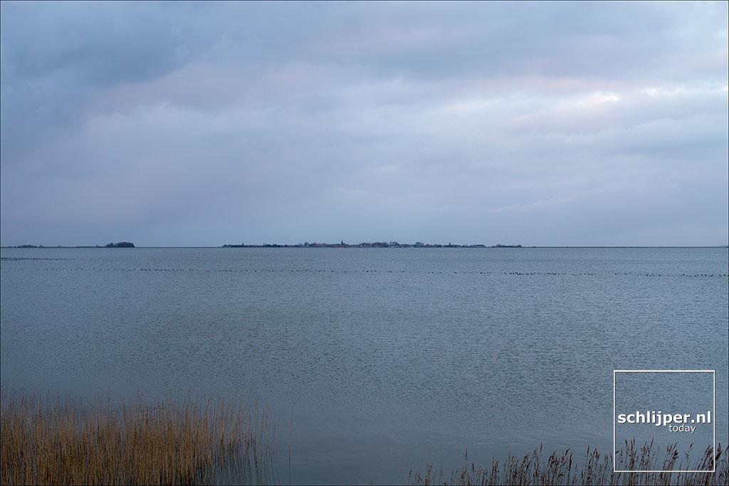 Nederland, Marken, Gouwzee, 28 december 2017