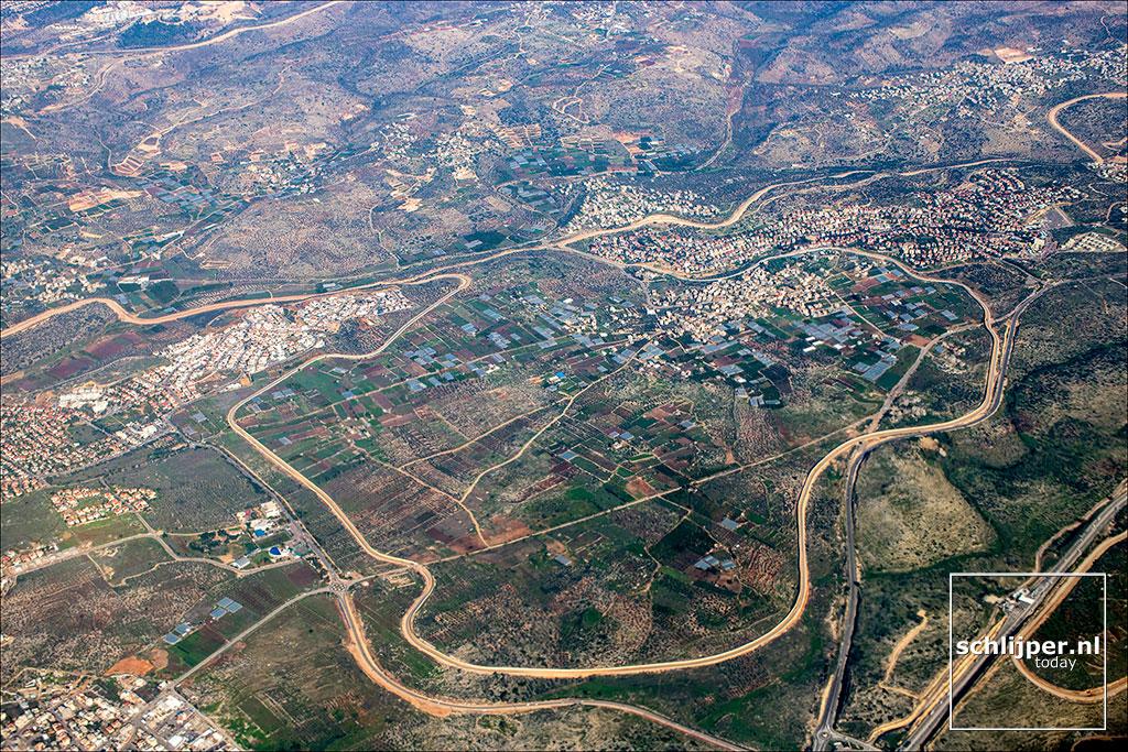 Israel / Palestine, Oranit, Azun, Nof Harim, 8 januari 2018
