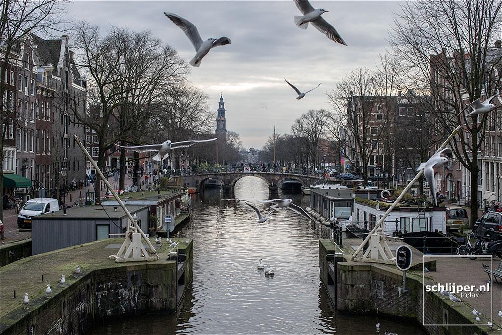 Nederland, Amsterdam, 12 januari 2018