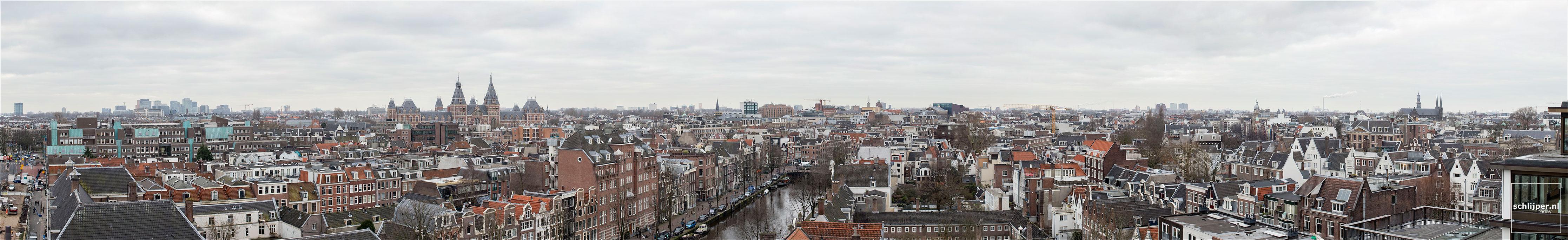 Nederland, Amsterdam, 23 januari 2018