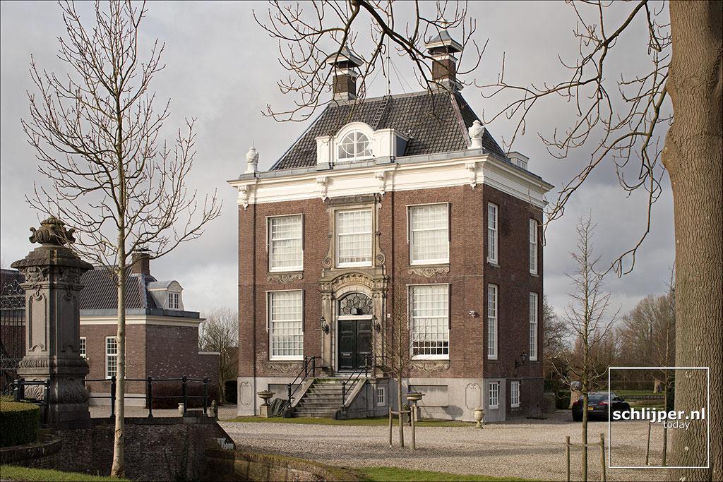 Nederland, Ouderkerk aan de Amstel, 30 januari 2018