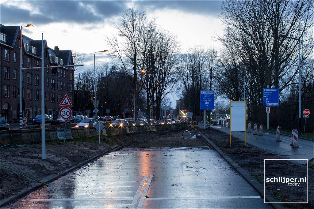 Nederland, Amsterdam, 1 februari 2018