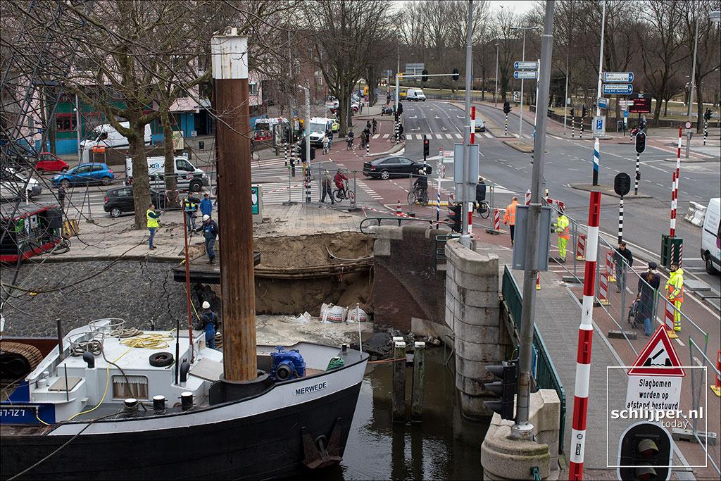 Nederland, Amsterdam, 6 maart 2018