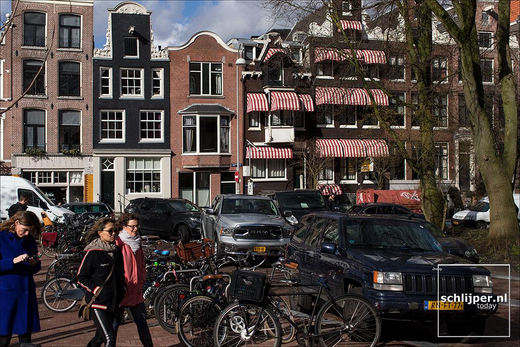 Nederland, Amsterdam, 8 maart 2018