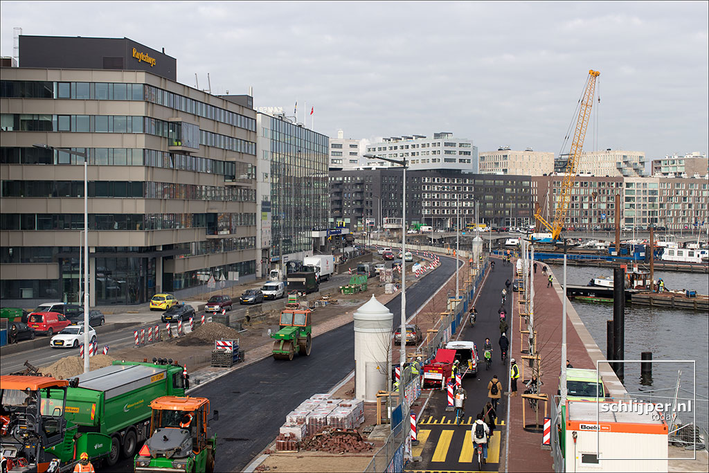 Nederland, Amsterdam, 12 maart 2018