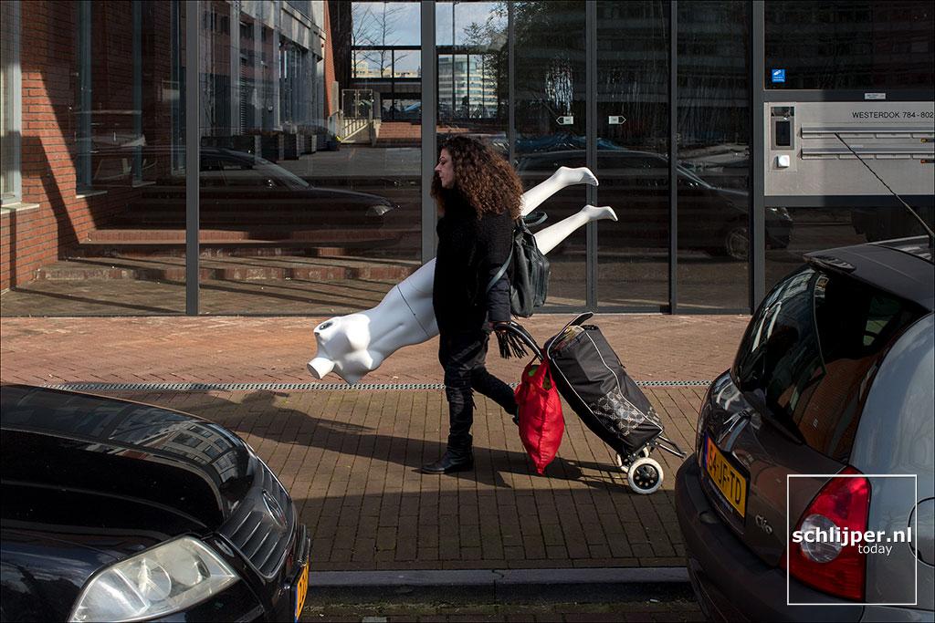 Nederland, Amsterdam, 14 maart 2018