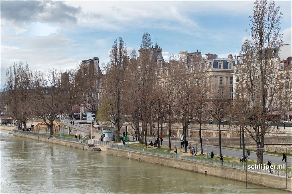 Frankrijk, Parijs, 31 maart 2018