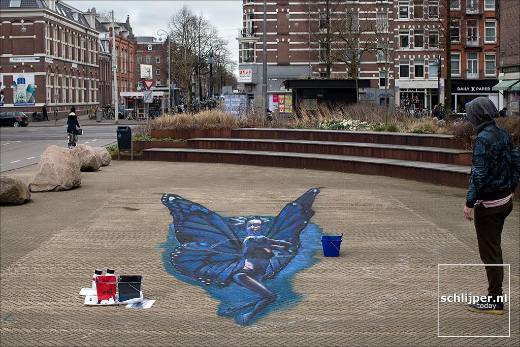 Nederland, Amsterdam, 3 april 2018
