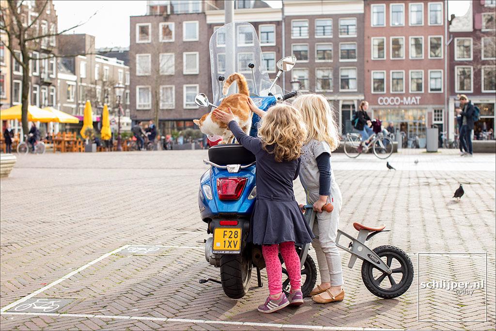 Nederland, Amsterdam, 6 april 2018