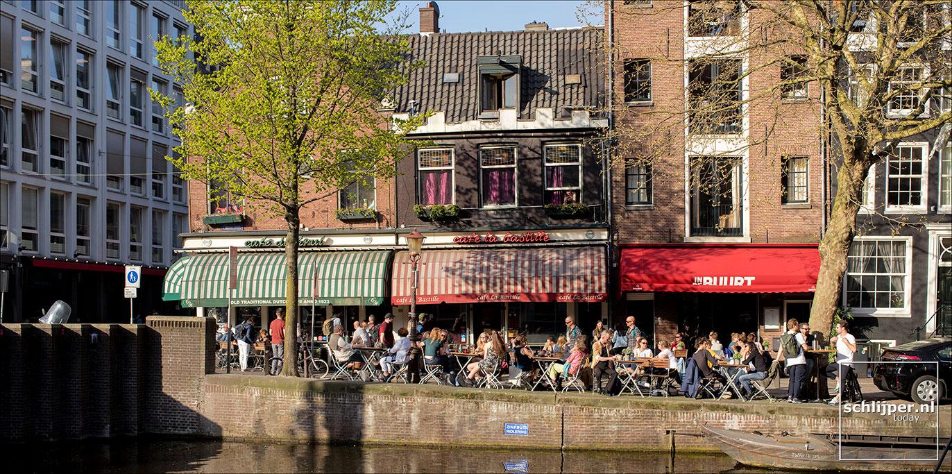 Nederland, Amsterdam, 18 april 2018