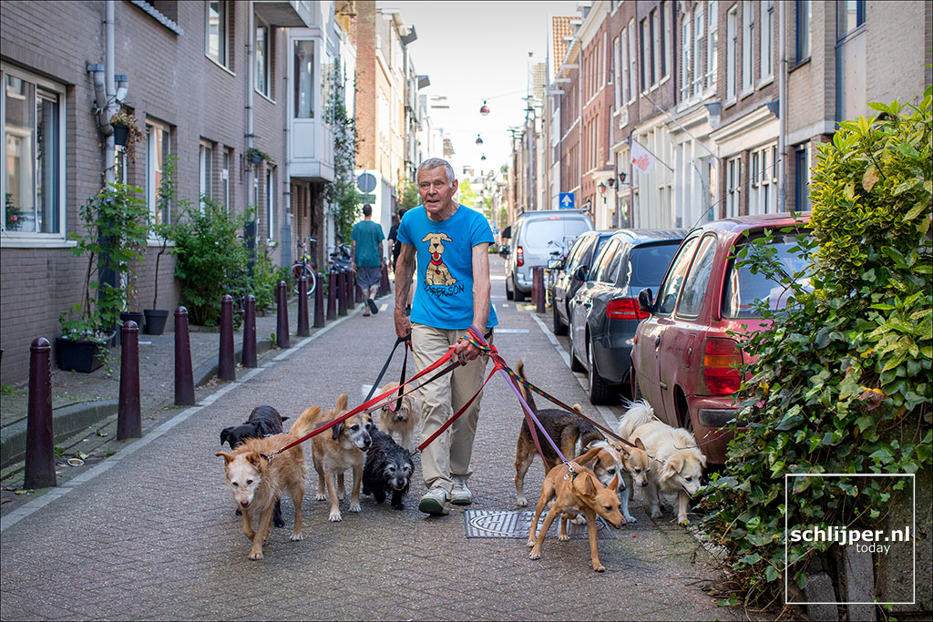 Nederland, Amsterdam, 7 mei 2018