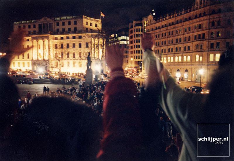 Engeland, Londen, 5 april 1997