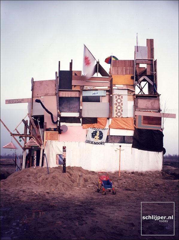 Nederland, Ruigoord, 21 november 1997