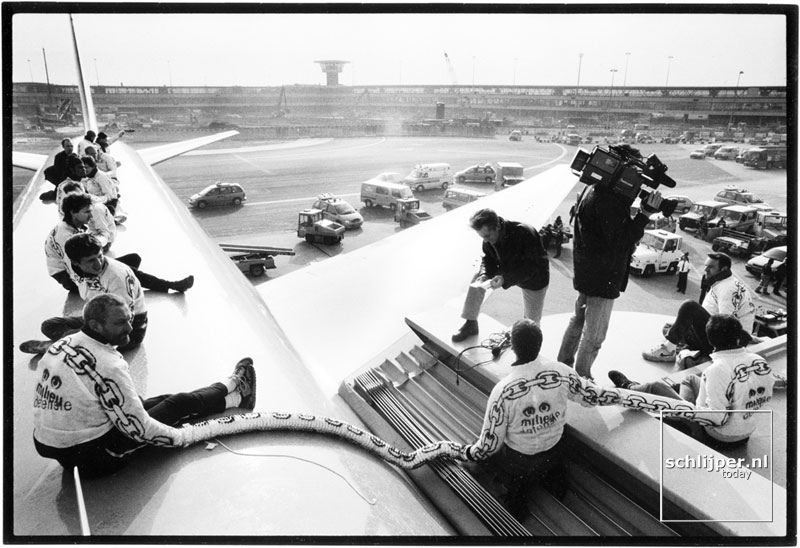 Nederland, Schiphol, 19 februari 1998