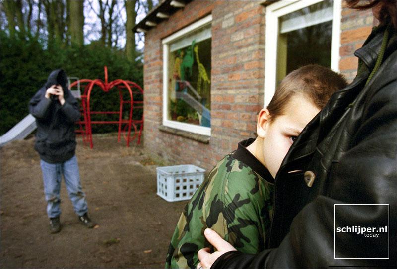 Nederland, Aederenhout, 21 januari 2000