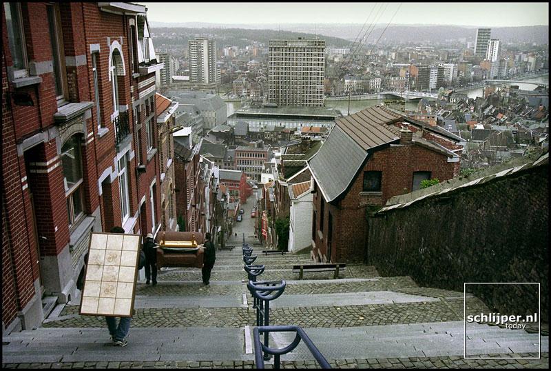 Belgie, Luik, 9 februari 2000