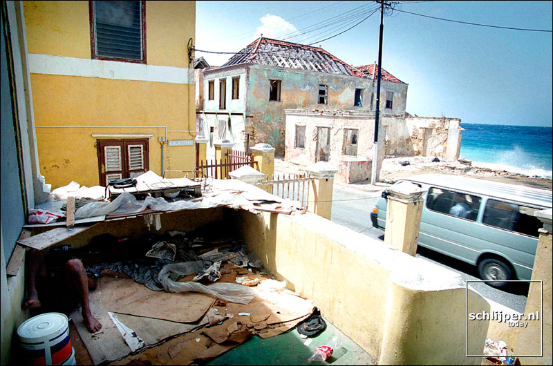 Curacao, Willemstad, 10 juli 2000