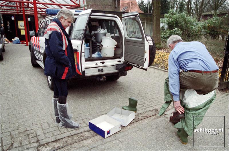Nederland, Rhenen, 25 maart 2001
