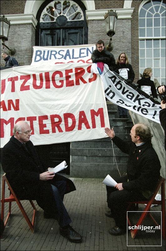 Nederland, Amsterdam, 28 maart 2001