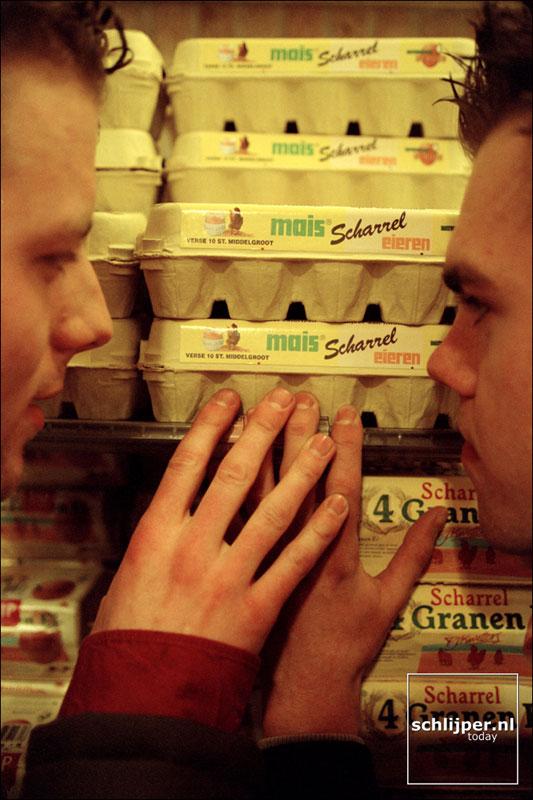 Nederland, Amsterdam, 11 april 2001.