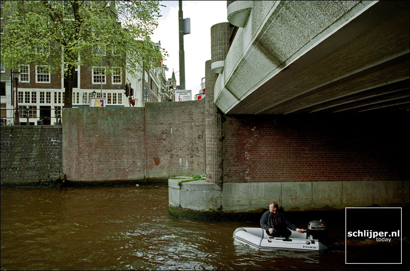 Nederland, Amsterdam, 28 april 2001.