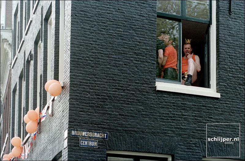 Nederland, Amsterdam, 30 april 2001.
