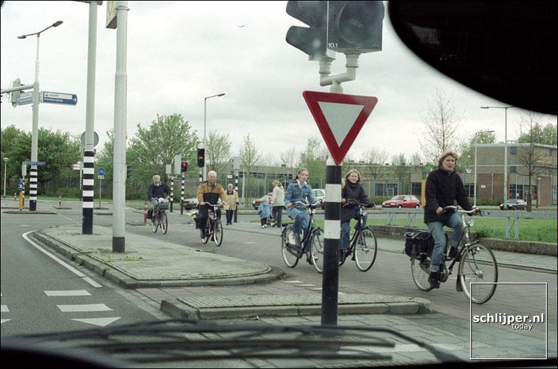 Nederland, Amersfoort, 4 mei 2001.