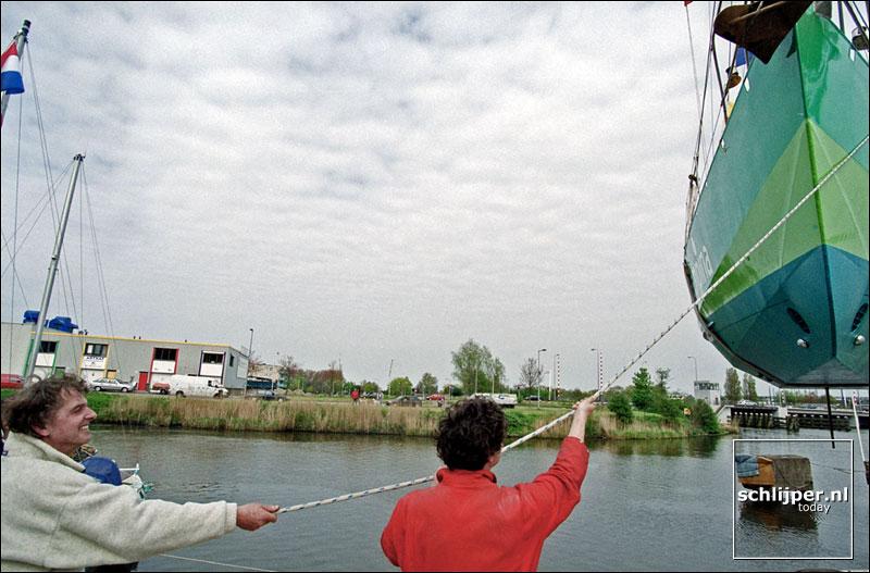 Nederland, Amsterdam, 8 mei 2001.