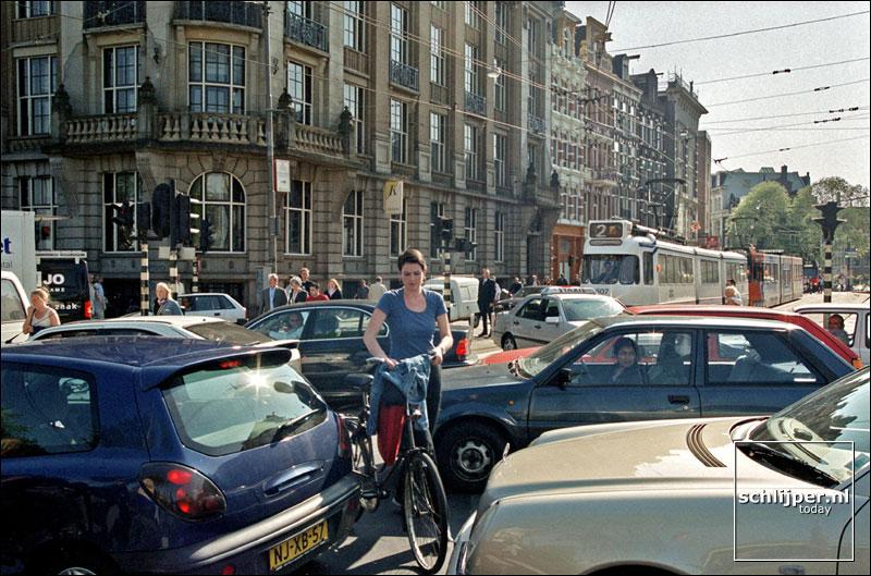 Nederland, Amsterdam, 10 mei 2001.