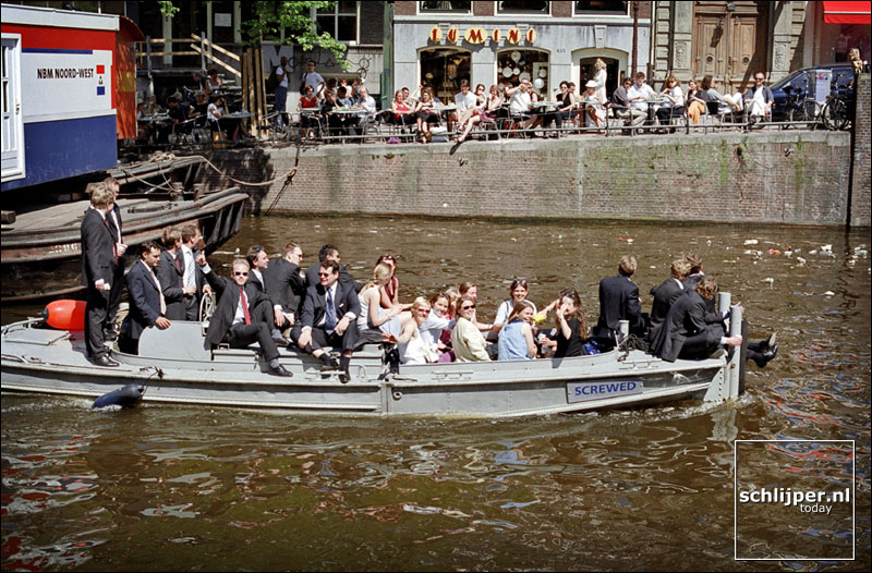 Nederland, Amsterdam, 12 mei 2001.