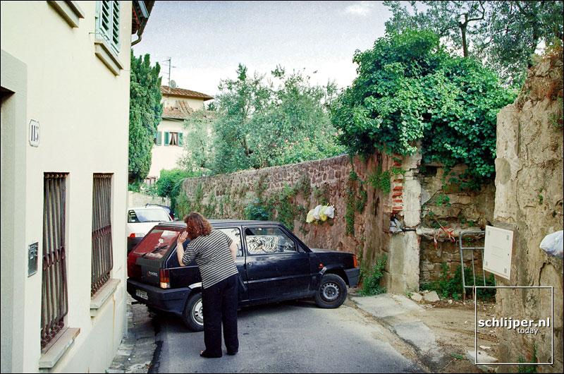Italie, Florence, 6 juni 2001.