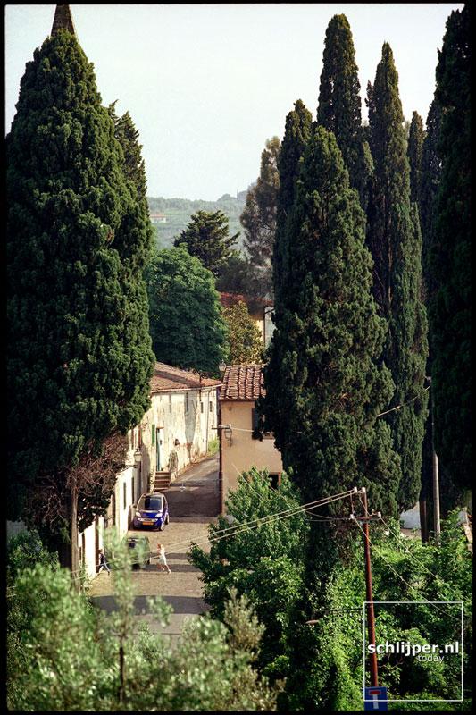 Italie, Florence (omgeving), 6 juni 2001.