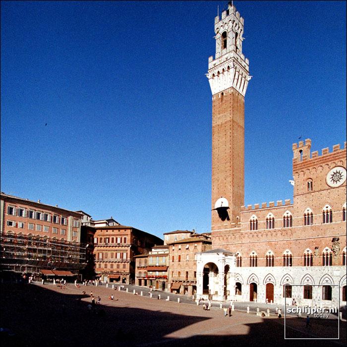 Italie, Siena, 9 juni 2001.