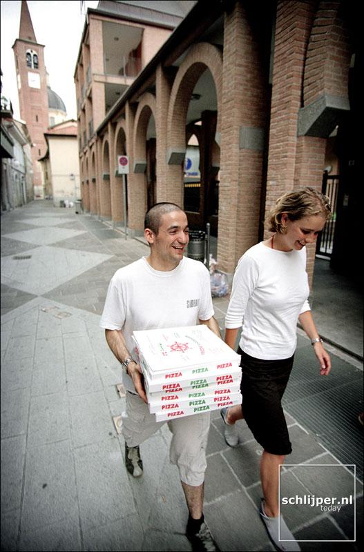 Italie, Busto Arsizio, 15 juni 2001.