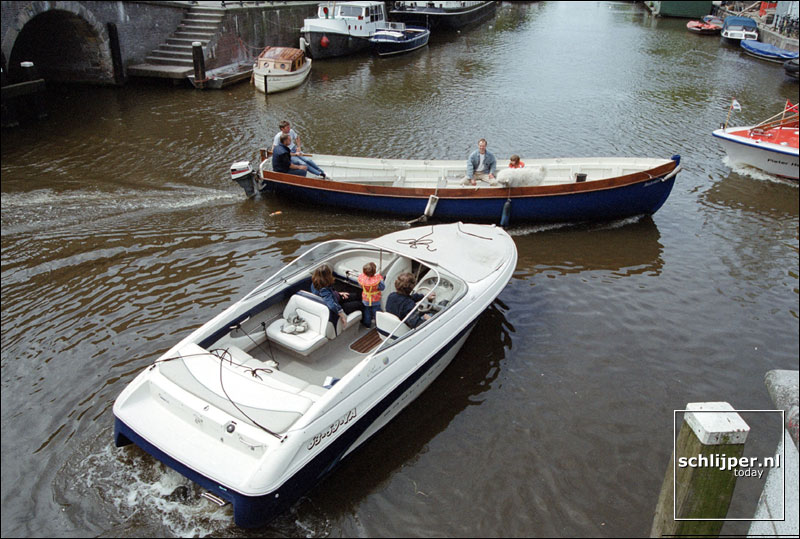 Nederland, Amsterdam, 20 juli 2001.